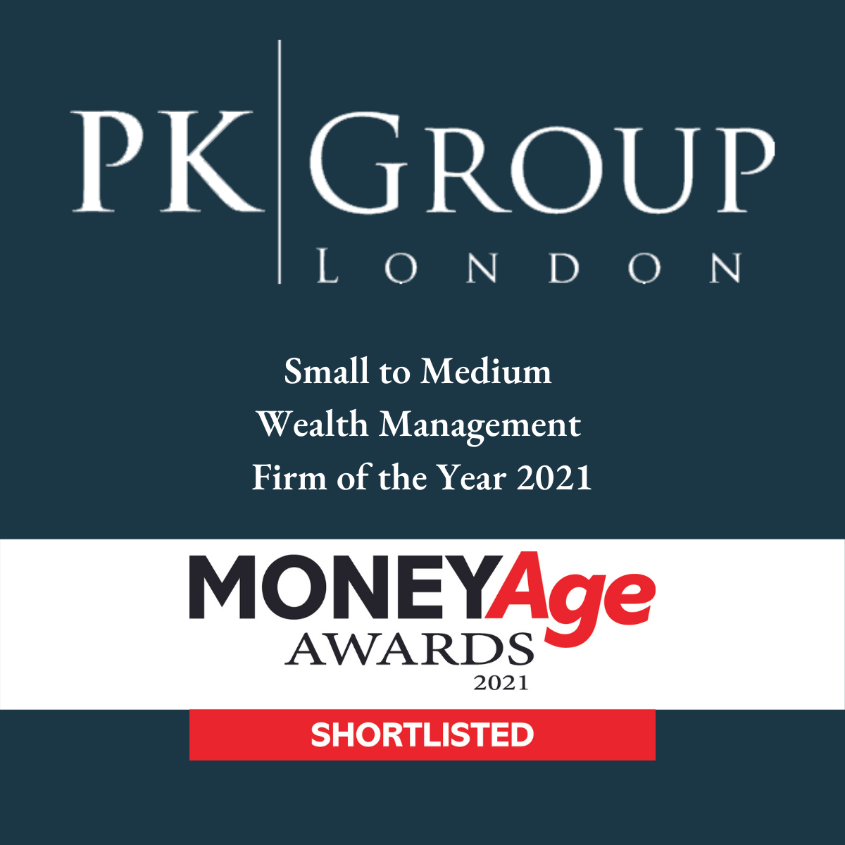 PK Group shortlisted in the MoneyAge Awards 2021